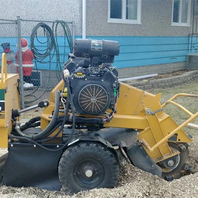 Stump Grinding Machine